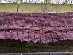 The Royal Geode (ladydanio) Tags: royal geode madelintosh pashmina melanie berg kir royale