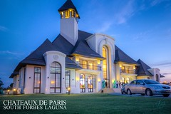 Chateaux de Paris Clubhouse (Jaydee Pan (Stopped for a while)) Tags: canon philippines sigma handheld bluehour laguna 1020 hdr photomatix 60d southforbes