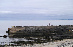 South Pier Kilmore Quay (gwen paskins) Tags: blue ireland sea beach stone grey pier waterford kilmore elementsorganizer11