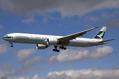 Cathay Pacific Boeing 777-367(ER) B-KQE LHR 18-05-13 (Axel J. - Aviation Photography) Tags: london airport heathrow aircraft aviation airline boeing flughafen flugzeug 777 aeropuerto flugplatz avion lhr airfield aviao aviones vliegtuig cathaypacific aviacin luftfahrt luchthaven fluggesellschaft bkqe