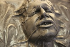 Han Solo in Carbonite (Close-up) (JeDi58) Tags: star harrisonford lucasfilm replica solo freeze esb wars carbon han carbonite rotj
