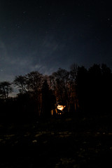 (trevoreiler) Tags: camping wisconsin night forest stars woods wilderness doorcounty secluded newportstatepark hikeinsite