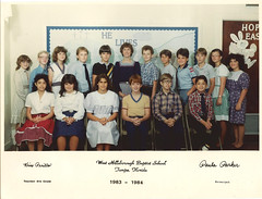 West Hillsborough Baptist School 1983-1984 6th Grade Class (Malidicus) Tags: school west tampa florida christian baptist hillsborough