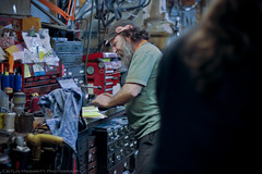 Steve (Caitlin Magarity Photography) Tags: blue moon philadelphia beer shop work bikes bicycles crew production filming bluemoon bilenky dbg bilenkycycleworks