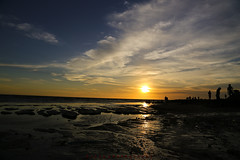 Today Sunset (Lohb) Tags: sunset sky sun beautiful landscape seaside pretty dusk gorgeous awesome explore today 6d 24105  sekinchan thanksyou   pantairedang