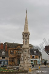 Banbury Cross (MarkHaggan) Tags: monument statue victorian spire oxfordshire nurseryrhyme banburycross