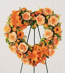 FTD Hearts Eternal Wreath (dobdeals.com) Tags: flowers wreaths eventsupplies