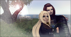 Client_Amaya And Michael (G B (taking clients)) Tags: world life studio photography 3d couple edited sl secondlife virtual second draw lover retouch client edit