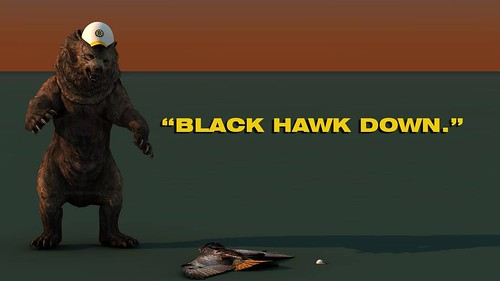 "Bruins Bear "" Black Hawk Down"" • <a style=""font-size:0.8em;"" href=""http://www.flickr.com/photos/97803833@N04/9096056808/"" target=""_blank"">View on Flickr</a>"