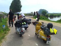 Short break (aurolevrai) Tags: vespa belgium hasselt piaggio belgio 2013 vwd belique vespaworlddays