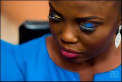 Makeup Closeup (nofuchu) Tags: wedding bride traditional makeup lagos nigeria nofuchu