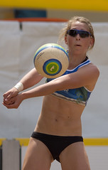 P6290292 (roel.ubels) Tags: beach sport arnhem beachvolleyball volleyball volleybal beachvolleybal eredivisie 2013 nevobo