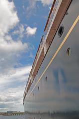 yacht brittania leith (uwe linneweber) Tags: scotland yacht royal leith edingburgh brittania