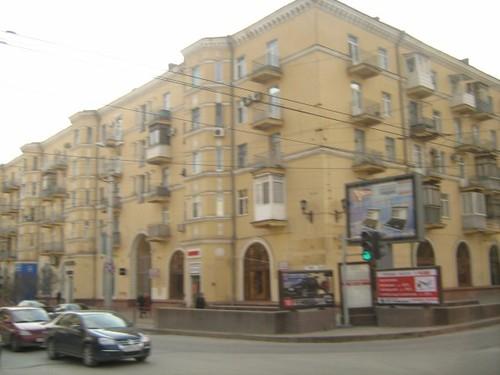В старом центре города: улица Мира/