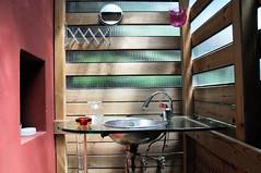 hand basin (lorenzog.) Tags: italy bathroom design nikon italia sink style ravenna washbasin bnb d300 2013 handbasin casadielena