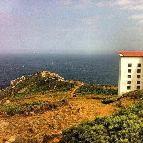 Tåkeluren på Spanias nordligste punkt.