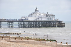 DSC_3131 (PashTag1) Tags: summer west sunshine sussex coast pier seaside july groyne groynes 2013