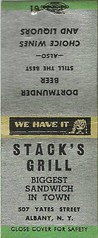 Stacks Grill  Albany NY (albany group archive) Tags: stacks grill albany ny bars 1950s 1960s 1970s oldalbany history old vintage photos photographs historical historic