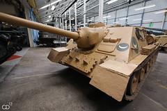 SU-100 (Chris Droesch) Tags: world uk museum army war tank egypt armor egyptian dorset ww2 second char bovington blind su100