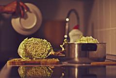 #174 (cpuchip) Tags: color cooking field focus dof bokeh sony 7 cabbage mf manual depth nex 8514 samyang laea2