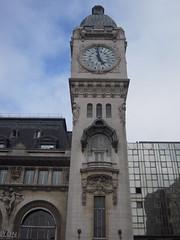 LA TOUR DE L'HORLOGE (marsupilami92) Tags: frankreich france capitale 75 paris gare tour horloge garedelyon 12emearrondissement sncf beffroi ledefrance journesdupatrimoine