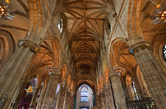 St Giles High Kirk (albireo 2006) Tags: wallpaper architecture choir scotland edinburgh alba background interior gothic medieval nave stgilescathedral vault middleages gothicarchitecture quire stgileshighkirk