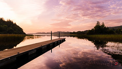Sunset Jetty... (Jordan Cummins Photography) Tags: sunset reflection water landscape nikon jetty d7000