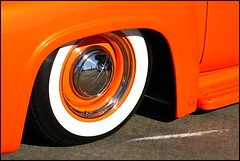 Ford Truck Detail (greenthumb_38) Tags: california cruise hotrod costamesa lowrider carshow 70200mm ocfair ocfairgrounds canon40d crusinforacure jeffreybass cancercruise sept2013 cancercruise2013