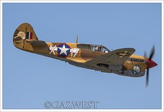 """CURTISS P-40F WARHAWK 41-19841 """"LEE'S HOPE"""" (Gaz West) Tags: from italy robert by hope was j early interesting fighter group explore southern which lt 1944 airfield squadron capodichino 79th curtiss 85th duffield warhawk flown p40f lees 4119841 leeshope"""