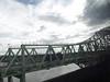 Runcorn Railway Bridge and Silver Jubilee Bridge (ell brown) Tags: greatbritain bridge england cheshire unitedkingdom bridges runcorn widnes rivermersey silverjubileebridge class350 runcornrailwaybridge rnbmersey runcorngap