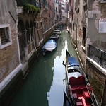 View on Canal in Venice