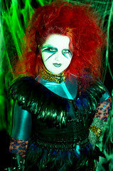 Glam Punk Rockers from Mars Halloween Costume-6 (cassandra sechler) Tags: silly halloween rock fun star weird punk space gang aliens glam outerspace rockers 2013 earthgirlsareeasy futurekill craigjacobson cassandrasecular
