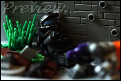 Preview... (n7mereel) Tags: november winter orange macro fall canon eos grey evening lego chief sunday halo scene 100mm prototype weapon be ba friday bf ef grunt commander spartan proto prepared n7 mereel needler 60d odst brickforge eclipsegrafx n7mereel bricharms