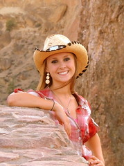 Smith Rock Photoshoot (Whitney C. Weber) Tags: park lighting girls friends sunset summer brown color cute green grass yellow oregon evening pretty desert state central models tan hats teens happiness august best short shorts cowgirl poses smithrock flawless cowgirlboots flannels 2013 terrabon