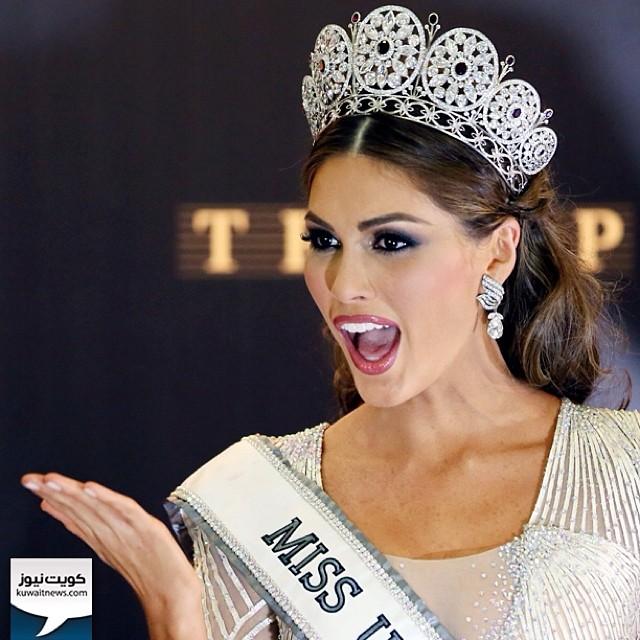 #روسيا / ملكة جمال فنزويلا غابريلا اسلير تفوز بلقب ملكة جمال الكون 2013 والتي اختتمت مساء أمس في موسكو. غابريلا تبلغ من العمر 25 عاما وتعمل مقدمة برامج  Miss #Venezuela 2013, Gabriela Isler poses during a photocall after winning the 2013 Miss Universe Gra