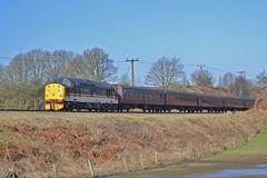 37518 2J65 (DM47744) Tags: park railroad tractor english electric ian riley diesel country traction rail railway loco class lancashire east locomotive preserved 37 railways elr intercity burrs 37518