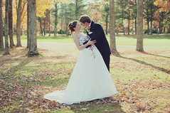 Heather & Colten. (NEW photography) Tags: autumn fall love nikon couple marriage firstlook d90