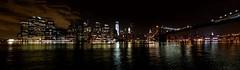 View of Manhattan downtown (SebaPerna) Tags: new york city nyc newyorkcity usa ny newyork skyline brooklyn night canon noche us downtown view unitedstates manhattan panoramic panoramica brooklynbridge eastriver nueva estadosunidos nuevayork viewofmanhattan canon650d canont4i