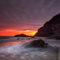Magical sunset (Carlos J. Teruel) Tags: sunset españa cloud atardecer spain nikon mediterraneo paisaje tokina murcia nubes fx marinas polarizador calblanque xaviersam singhraynd3revgrad carlosjteruel d800e