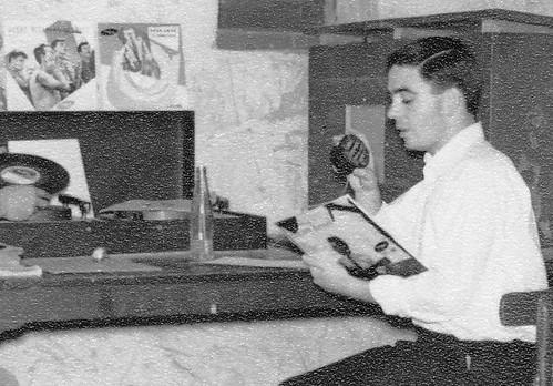 Mike McMahon. Fayid  Jazz Club 1954 b