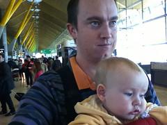 Madrid Terminal 4 Selfie (erikrasmussen) Tags: madrid ian airport erik terminal4 selfie