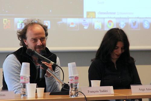 François Taddei et Ange Ansour
