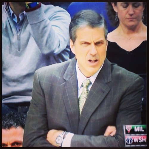 Game 19 #WittmanFace: 'As a coach, you have to have a short memory ... while trying not to forget past mistakes for the future becomes a jumble of X's, O's, cobwebs, & the sound of a lone basketball bouncing in an empty gym inside of your head.'