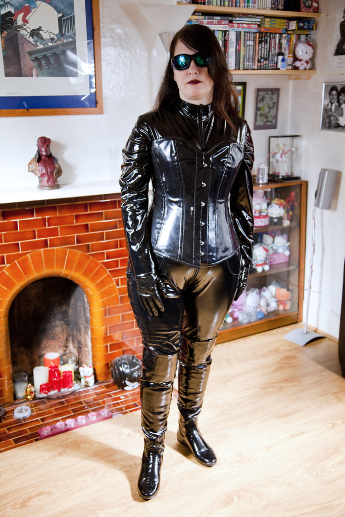 Thanks wife in leather fetish already