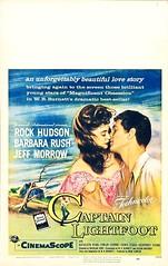 Captain Lightfoot (1955 / Universal-International) 14x22 window card (KlaatuCarpenter) Tags: movieposter rockhudson barbararush jeffmorrow rosshunter douglassirk finlaycurrie roybesser