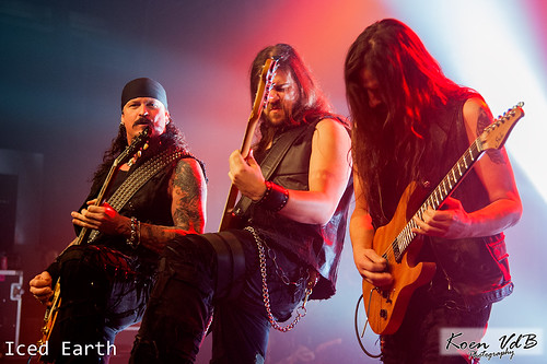 Iced Earth @Trix 11012014