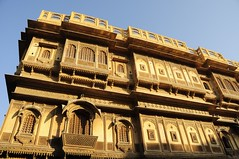 The Beautiful Patwon Ki Haveli (Saumil U. Shah) Tags: travel wallpaper sculpture india house art heritage history tourism town sandstone flickr desert fort indian culture craft tourist historic mansion fortress jaisalmer desktopwallpaper rajasthan shah haveli goldencity  saumil  patwonkihaveli incredibleindia patwon patwa  saumilshah