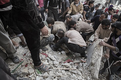 A City under fire (foersterphotography) Tags: people rot dead war buried civil shelling alive aleppo fsa syrien