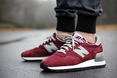 New Balance 990 Re-Issue - Burgundy (GTFan712) Tags: new canon shoe 50mm shoes burgundy f14 nb sneakers sneaker balance kith 3m madeinusa 990 newbalance madeinamerica whitelabel t2i m990 shoetography teamnb kithnyc 990reissue gtfan712 mercerpants 990anniversary kithmercerpants m990bd 990bd