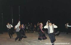 Conjunto Folclórico de la Universidad Educares, Sede Viña del Mar, noviembre de 1991.